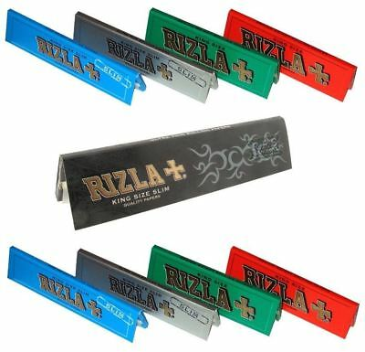 Genuine Quality Rizla Regular Classic Cigarette Smoking Natural Rolling Paper