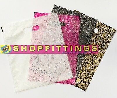 Strong Plastic Polythene Carrier Bags Heena Design Carrier Bags Patch Handle