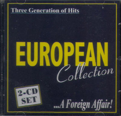 2 CD - EUROPEAN COLLECTION - THE BEST EUROPEAN HITS-Black- brand new & sealed