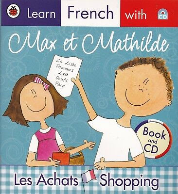 Learn French, Shopping With Max Et Mathilde, New Book And Cd
