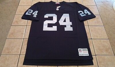official photos 27adf 2aa42 OAKLAND RAIDERS MITCHELL & Ness Charles Woodson Replica Black Jersey Men's  NWT