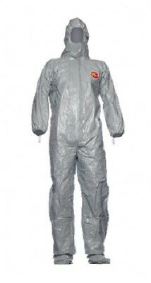 DuPont Tychem F CHA6 Chemical Biohazard Pest Control Coverall Choose Size