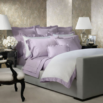 Ralph Lauren Home Wyatt Langdon Standard Pillow Shams Pair Violet Lavender New