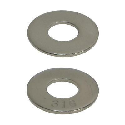3/16 1/4 5/16 3/8 1/2 9/16 5/8 3/4 7/8 Mudguard Penny Washer Stainless Steel
