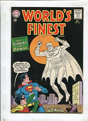 "Worlds Finest Comics #139 - ""the Ghost Of Batman!"" - (7.0) 1964"