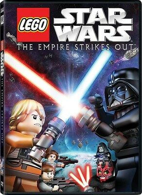 LEGO STAR WARS THE EMPIRE STRIKES OUT New Sealed DVD