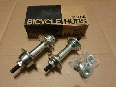 SUZUE CHROME HUBS  NEW OLD STOCK