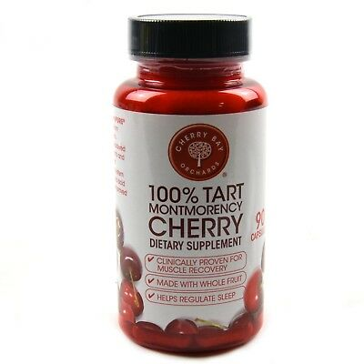 Cherry Bay Orchards 100% Tart Montmorency Cherry Supplement - 90 Capsules