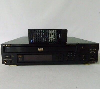 Sony MDP-322GX LaserDisc Player w/ Remote 8 Times Oversampling Digital Filter