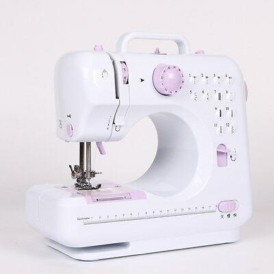 12 Stitches Electric Overlock Sewing Machine Household Multifunction Sewing Tool