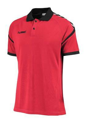 Hummel Authentic Charge Functional Polo Shirt rot NEU 78446