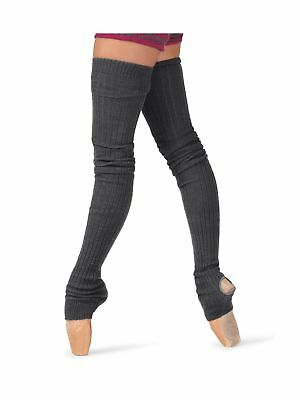 Body Wrappers Women's Leg Warmers Black One Size