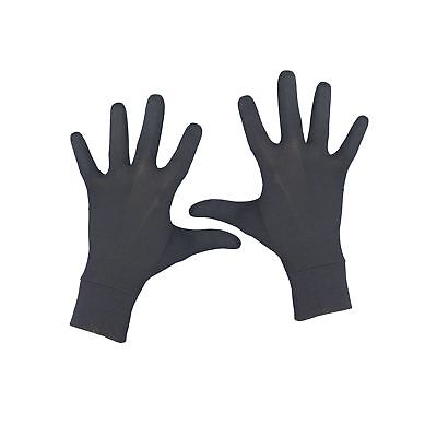 Terramar Thermasilk Glove Liner Black Medium