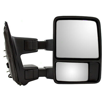 11-16 Ford Super Duty Pickup Truck Passengers Side Manual Tow Telescopic Mirror