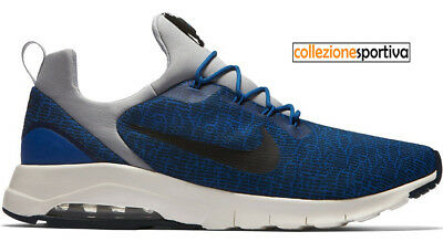 competitive price bfdc3 90cda SCARPE UOMO DONNA NIKE AIR MAX MOTION RACER - 916771-400 col. blu