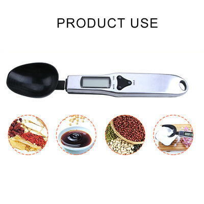 500g/0.1g Digital Kitchen Gram Electronic LCD Measure Food Spoon Weight Scale