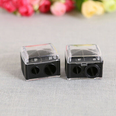 Precision Cosmetic Pencil Sharpener for Eyebrow Lipliner Eyeliner Random Color