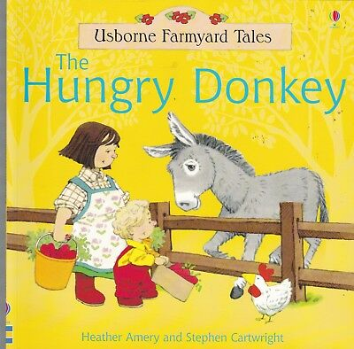 Usborne Farmyard Tales, The Hungry Donkey, New Book