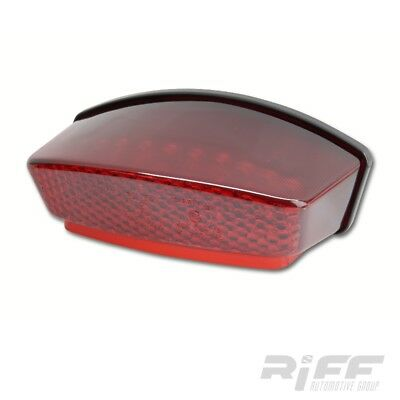 LED Rücklicht rot Ducati Monster 1000 S 800 S4R S2R rot rotes red lens taillight