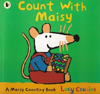 Count With Maisy By Lucy Cousins, Paperback, New Book