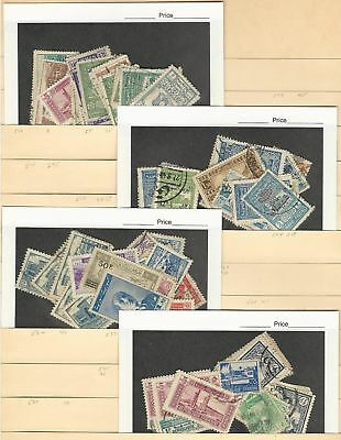 Syria Unsorted Mixture on 3 Stock Pages, Huge Cat Value Lot
