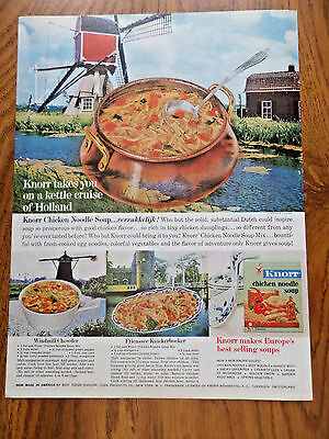 1962 Knorr Soup Ad Holland 1962 Bulova Watches Ad Shows 6 Models