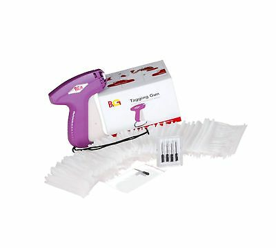 PAG Price Tag Standard Attacher Tagging Gun for Clothing with 5 Needles and 2...