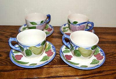 Franciscan Dinnerware Orchard Glade Cups and Saucers England
