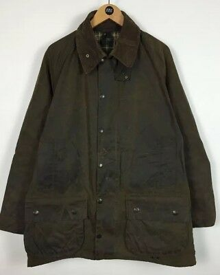 "Men's Barbour ""Moorland"" Wax Jacket / Large / Outdoor / Country"