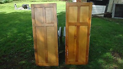 vintage architectural salvage PANEL cupboard  doors house cottage