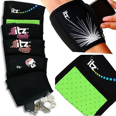 Jogging Gym Running Arm Band Case Cover Pouch Various Mobile Phones Arm Pocket