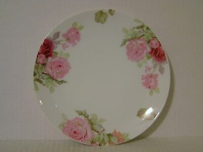 Vintage Thomas Sevres Bavaria Plate With Rose Pattern Made In Germany