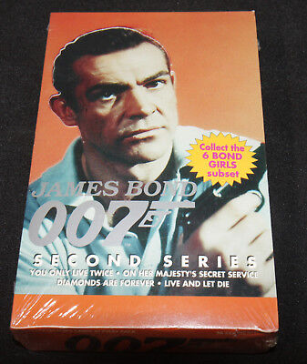 Eclipse JAMES BOND 007 SECOND SERIES Trading Card Box - Sealed - 36 Packs