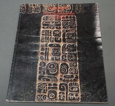 Sothebys Pre-Columbian Art NY November 1985  Maya with prices realized