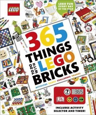 365 Things to Do with LEGO (R) Bricks With activity selector an... 9780241232378
