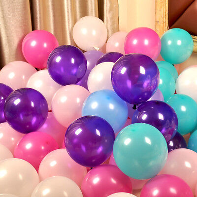 10 pcs Thick Balloon Multicolor Valentines Matte Latex Balloon 10 inch
