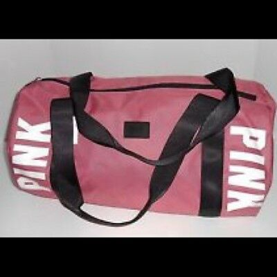 97b67c2e954 Victoria Secret Pink GYM BEACH CARRY ON WEEKENDER GETAWAY DUFFLE BAG TRAVEL  TOTE