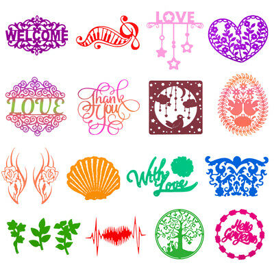 Metal Cutting Dies Stencil Scrapbook Paper Ablum Card Craft DIY Die-Cut  Decor