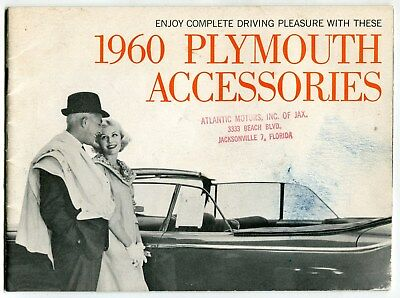 "Vintage Auto Catalog: ""1960 Plymouth Accessories"""