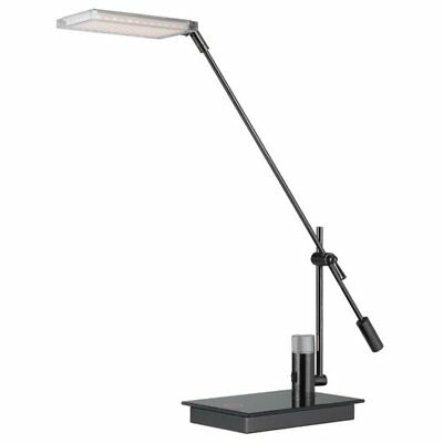 Cal Lighting Lumens Desk Lamp with Touch Sensor Dimmer Switch and Adjustable Arm