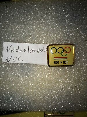 Nederlands Olympic pin NOC