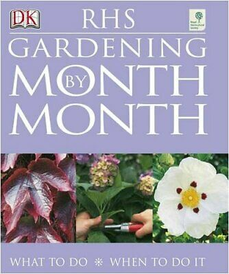 RHS Gardening Month by Month by Spence, Ian Paperback Book The Cheap Fast Free