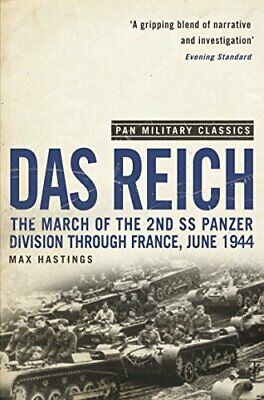 Das Reich (Pan Military Classics) by Hastings, Max Paperback Book The Cheap Fast