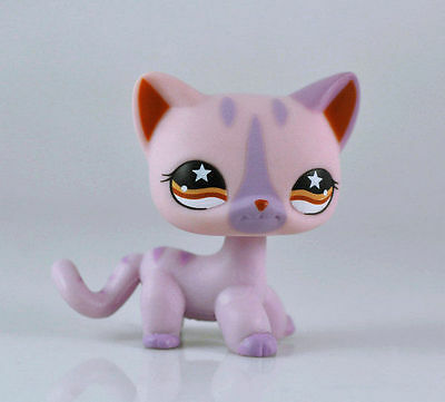 Cat Littlest Pet Short Hair Animal child girl boy figure loose cute LPS952
