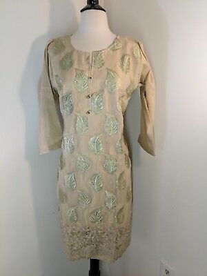 Pakistani / indian party woman shirt masoori fancy  net.