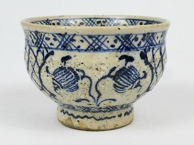 Early Japanese Chawan Ceramic Tea Bowl - Edo Period
