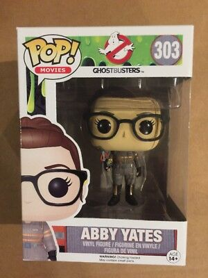 Funko Movies Ghostbusters 2016 Abby Yates Pop Figure #303 New In Box FREE SHIP