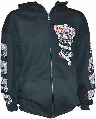 REVEL IN FLESH Servants Of The Deathkult - Kapuzenjacke / Hooded-Zip XL - 163867
