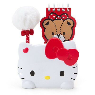 Hello Kitty Memo Stand Stationery Set Sanrio Kawaii Cute Tiny Cham Free Shipping