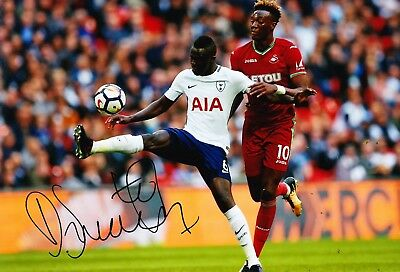 Davinson SANCHEZ Signed 12X8 Photo SPURS Tottenham Hotspur AFTAL COA (1842)